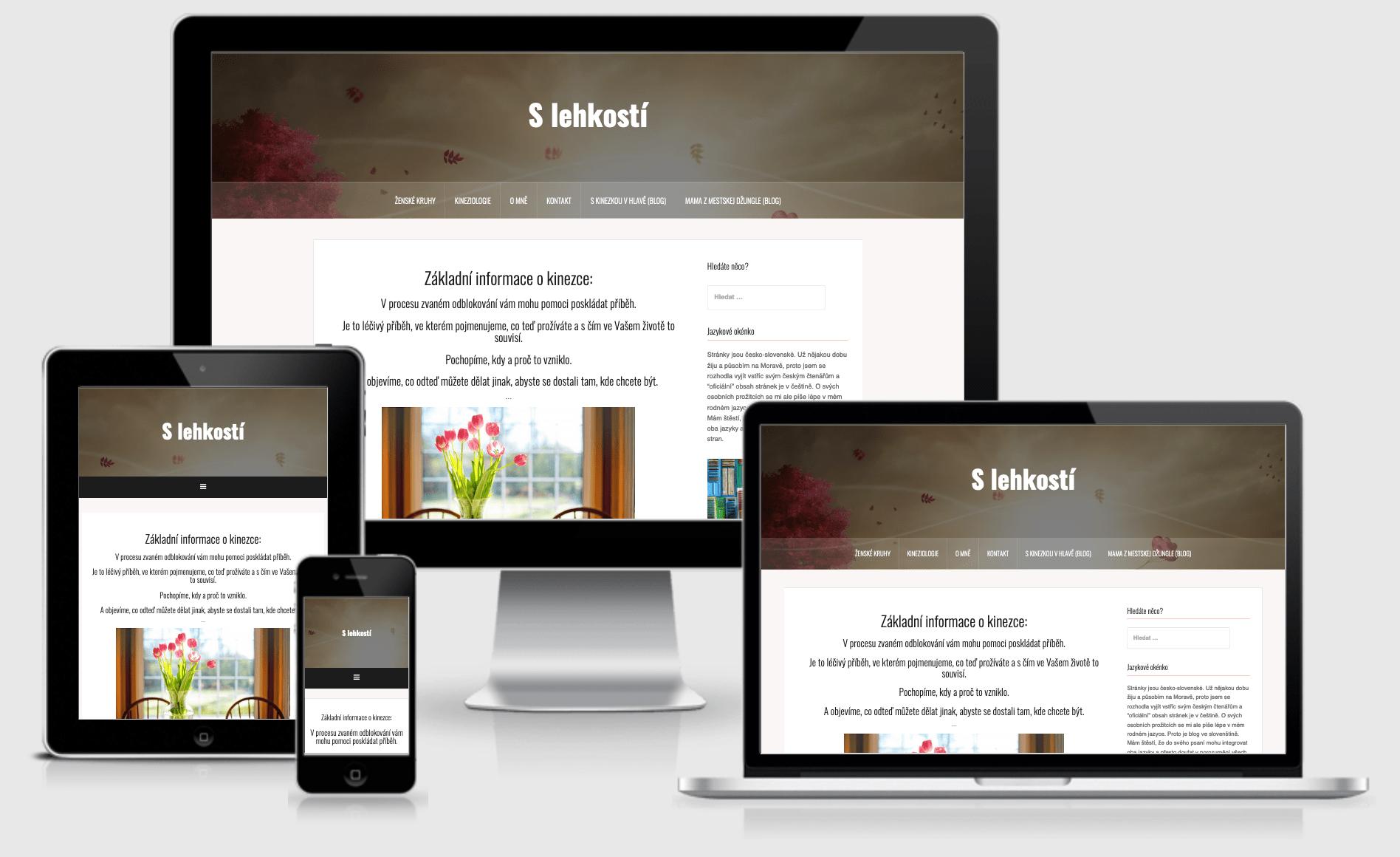 Website S lehkosti